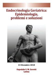 Endocrinologia Geriatrica: Epidemiologia, problemi e soluzioni